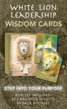 White Lion Leadership Wisdom Cards